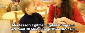 Montessori Eğitmen Eğitimleri Devam Ediyor