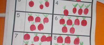 Parmak baskısı elmalarımızla sayıyoruz…!