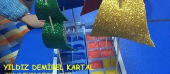 Okul öncesi eğitimde suyun buz hali ile eğlence (renk,Dünya buz…)