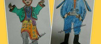 Türk Çocukları Boyayalım…!