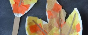 Kağıt tabaktan yaprak