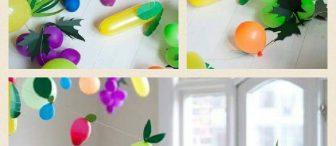 """Meyve Balonlar """"Yerli malı sınıf süsleme"""""""